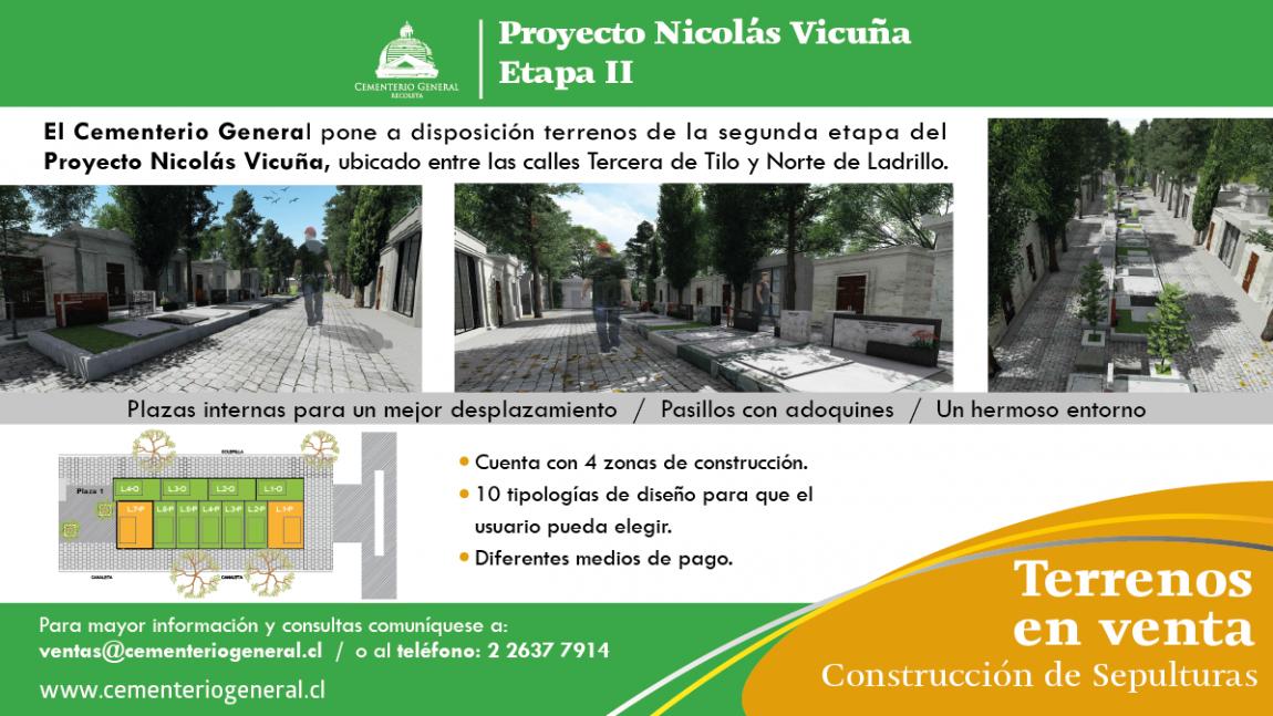Proyecto Nicolás Vicuña – Etapa II